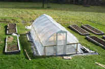 Homemade greenhouse
