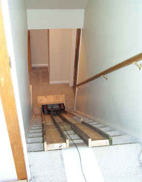 Will Plywood Fit Through Attic Stairs Winches Ramps Move
