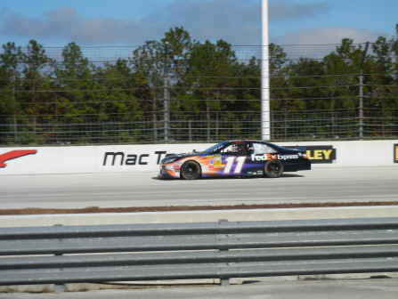 Denny Hamlin's #11 was my car for the day