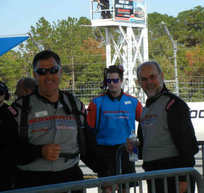 Shawn Cannon of Richard Petty Experience at Disney World